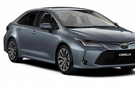 Täisteenusrent Toyota Corolla 2019